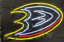 """Anaheim Ducks Neon Light Sign 24""""x20"""" Beer Bar Decor Lamp Glass"""