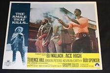 1968 Ace High Lobby Card 69/291 #8 Eli Wallach Terrence Hill (C-6)