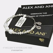 Authentic Alex and Ani Assorted Swarovski Crystal & Metal Bangle AA11