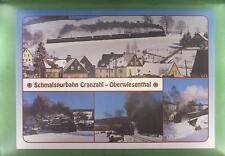 CPA Germany Cranzahl Locomotive Lokomotive Train Zug Bahn Railway Eisenbahn k695