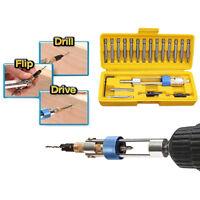 20pcs/Set Half Time Drill High Speed Screwdriver Head 20 bits Drill Driver B A8A
