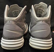 Nike ZOOM Hyperdunk + Sz 11 Grey Vintage Lebron rare kobe htm og lot vtg