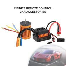 9T 4370KV Brushless Motor + 60A ESC Speed Controller Combo for 1/10 RC Car Parts