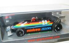 1/43 Spark Model   Ensign N179  Rainbow Jeans  Canadian GP 1979  Marc Surer