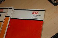 CASE MODEL P336 TB336 TURBO PLACER Spare Parts Manual book concrete pump truck