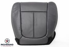 2009-2014 Ford F150 -Driver Side Bottom Replacement Leather Seat Cover Black