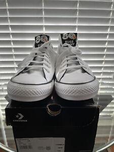 Converse CTAS Low White / Black / Grey Shoe Mens US 12