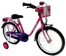 """Kinderfahrrad 18"""" Zoll (=45,7cm) EMPRESS pink Stützräder + Seitenständer NEU"""