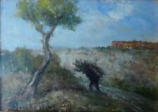 080611f Gaetano Bocchetti Napoli, 1888 – 1990. Piccolo paesaggio