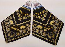 University of Iowa Hawkeyes Bandanas 2-Pack