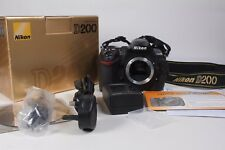Nikon D200 Digital SLR camera Black body only