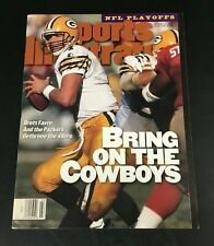 Brett Favre 1st SPORTS ILLUSTRATED 1996 NEWSSTAND NO LABEL Green Bay Packers