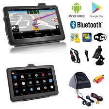 7 Zoll Android PKW LKW Navigationsgerät mit Rückfahrkamera Karten Bluetooth Wifi