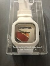 Southwest Airlines Limited Edition Watch Interchangeable White Silicone Band