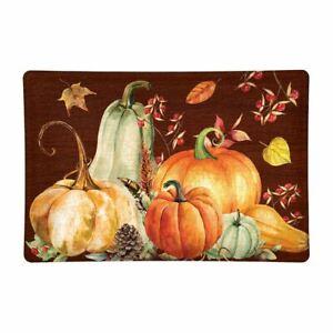 Michel Design Works Sweet Pumpkin Autumn Fall Rectangular Glass Soap Dish