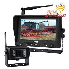 "HD 9"" Wireless Agriculture Backup Camera + Waterproof CMOS Car Reverse Camera"