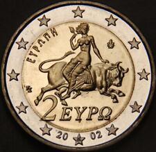 Pièce neuve de 2 euro avec le S dans l'étoile du bas ( Grèce 2002 )