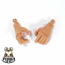 Did 1/6 Old Nude Body Moveable finger_ Hand pairs x 2 _old toys Dd014A