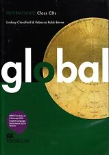 Macmillan GLOBAL Intermediate Class Audio CDs /Lindsay Clandfield & R Benne @NEW
