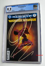 WONDER WOMAN #23 CGC 9.2 NM- Frison Variant Cover 2017 Ares & Hippolyta App (HOT