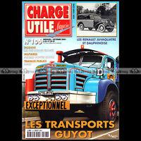 CHARGE UTILE N°106 BERLIET TBO 15 LANGRES TOURISME SPAHR MEHARI RODEO AGRIP