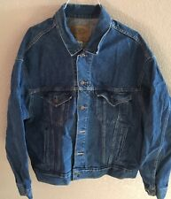 "Vintage Lee Roy Parnell ""Love Without Mercy� Denim Tour Jacket Size Xxl 1992"