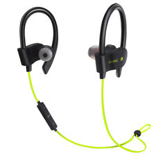 Wireless Bluetooth Headset Headphone Sports Stereo Earbuds Earphone For Iphone