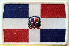 REPUBLICA DOMINICANA Flag Patch with VELCRO® brand fastener Military Emblem
