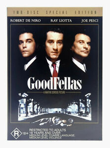 Goodfellas - Two Disc Special Edition - Robert De Niro (DVD 2004) PAL Region 4