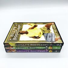 Billy Blanks Bootcamp Lot 3 Dvds Elite Mission Two Three New Abs Bootcamp Used