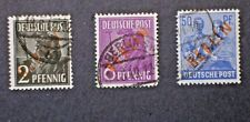 Lot #2 German Berlin (Red Ovpt) stamps - Used