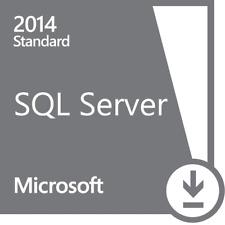MICROSOFT SQL SERVER 2014 STANDARD + 10 CAL ESD KEY MULTILANGUAGE FATTURA