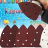 140mm Mouse Sanding Sheets Black & Decker Palm Sander Sandpaper Hook and Loop