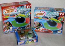 Fantastic Tracks Kinder LED Rennbahn Set XXL Version 382 Teile 4 Autos Tracks