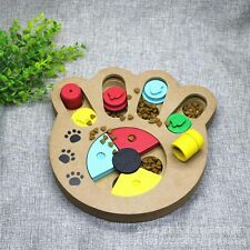 GAME INSTRUCTIVE INTERACTIVE WOODEN FOR DOG PREMIO BISCUIT CHECKERS NEW