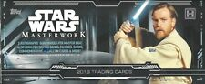 Star Wars 2019 Masterwork Hobby Box 4 Hits 2 Autograph Guaranteed Auto Sketch