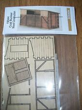 GC Laser HO Scale Coal Bunker Wood Kit #19044  Bob The Train Guy