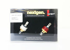WBT 0210Ag ms 0210 RCA plug  *2pcs / 1 pair  boxed for amplifier FREE SHIPPING