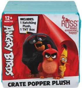 NEW Angry Birds  - Blind Micro Plush Pop Up TNT from Mr Toys