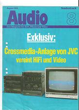 AUDIO JVC A-G90B T-G90LB QL-G90B KD-WR90 SEA-G90B VS-1B JX-AV1B Sonderdruck 8/84