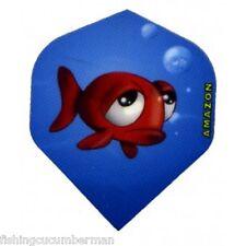2 Set di pesci cartoon Dart voli