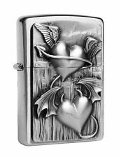 ZIPPO ® ACCENDINO Heart of Heaven and Hell Chrome