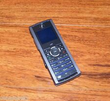 Motorola i425 - Grey (Boost Mobile) iDEN Cellular Phone w/ Power Supply **READ**