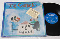 THE CONNELS:LP-FUN & GAMES-ORIGINAL NM CONDITION