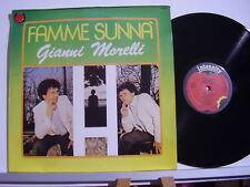GIANNI MORELLI disco LP 33 giri FAMME SUNNA' Made in Italy STAMPA ITALIANA