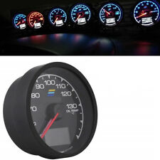 62mm Racing Car Gauge Turbo Gauge 7 LED Colors Voltage Meter Oil Temp Gauge