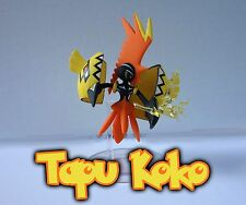 Pokemon -Tapu Koko- Sculpted Figure Toy- Collection -SM30- New Ready to ship!