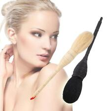 Pro Cosmetic Makeup Goat Hair Rattan Brush Blush Face Powder Foundation SAUS
