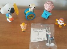 Looney Tunes Peanuts Garfield Collector's Figures Mixed Lot