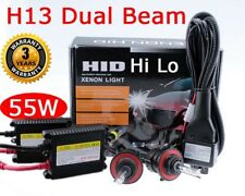 55W H13 9008 Bi-Xenon HID Conversion Kit 6000K White Dual Beam Headlight M